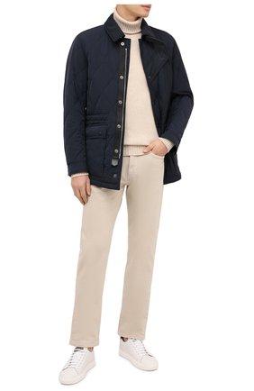 Мужская утепленная куртка TOM FORD темно-синего цвета, арт. BV040/TF0567 | Фото 2