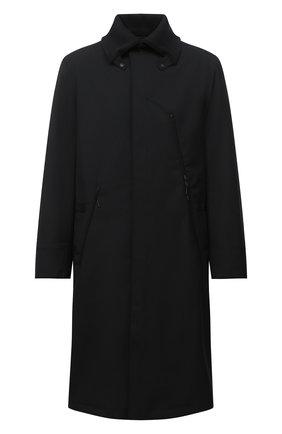Мужской утепленный плащ Y-3 черного цвета, арт. GK4584/M | Фото 1