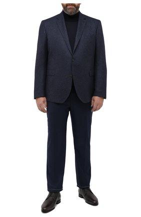 Мужской кашемировый пиджак EDUARD DRESSLER темно-синего цвета, арт. 6431/26076 | Фото 2