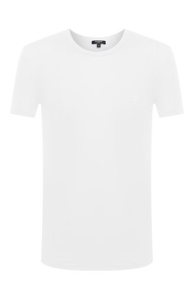 Мужская футболка BALMAIN белого цвета, арт. BRM4A5120 | Фото 1