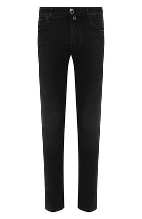 Мужские джинсы JACOB COHEN черного цвета, арт. J688 LIMITED C0MF 02041-W2/54 | Фото 1