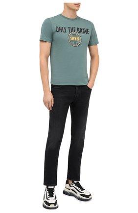 Мужские джинсы JACOB COHEN черного цвета, арт. J688 LIMITED C0MF 02041-W2/54 | Фото 2