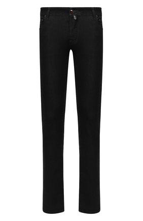 Мужские джинсы JACOB COHEN черного цвета, арт. J622 C0MF 02042-W1/54 | Фото 1