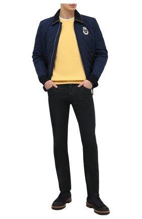 Мужские джинсы JACOB COHEN черного цвета, арт. J622 C0MF 02042-W1/54 | Фото 2