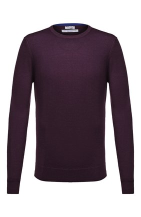 Мужской шерстяной джемпер JACOB COHEN фиолетового цвета, арт. J1062 02173-L/54 | Фото 1