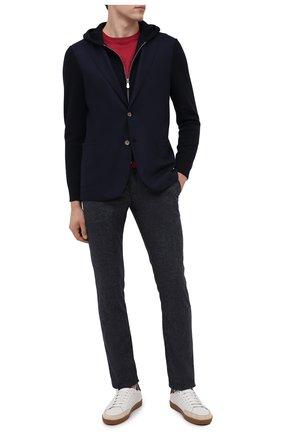Мужские брюки JACOB COHEN синего цвета, арт. B0BBY W00L C0MF 02118-N/54 | Фото 2