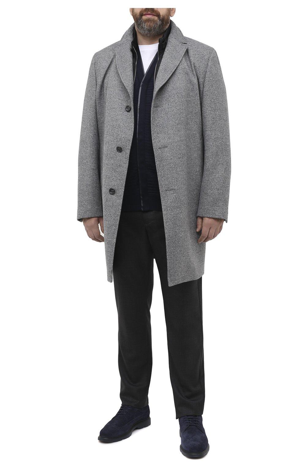 Мужской кардиган из кашемира и шелка ZILLI темно-синего цвета, арт. MBU-CA085-VAWA1/ML01 | Фото 2