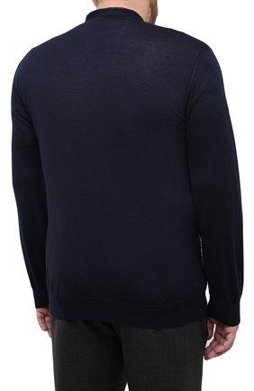 Мужской кардиган из кашемира и шелка ZILLI темно-синего цвета, арт. MBU-CA085-VAWA1/ML01 | Фото 4