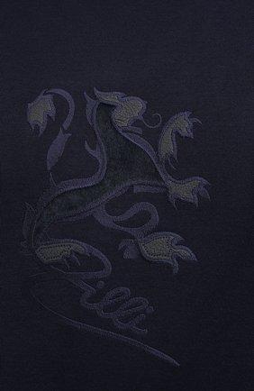 Мужской джемпер из хлопка и кашемира ZILLI темно-синего цвета, арт. MBU-RN140-JEP01/ML01 | Фото 5
