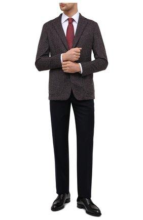 Мужской пиджак из кашемира и шерсти ZILLI светло-коричневого цвета, арт. MNU-ECKX-2-D6996/M001   Фото 2