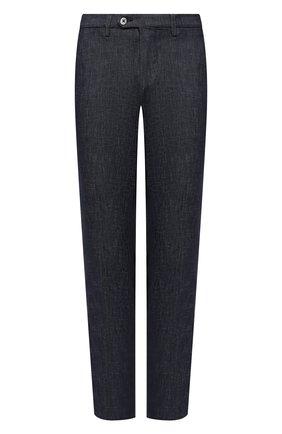 Мужской хлопковые брюки CORNELIANI темно-синего цвета, арт. 864ER7-0820154/00 | Фото 1