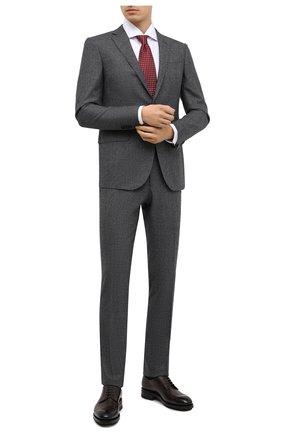 Мужской шерстяной костюм CORNELIANI темно-серого цвета, арт. 867230-0817520/92 Q1 | Фото 1