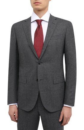 Мужской шерстяной костюм CORNELIANI темно-серого цвета, арт. 867230-0817520/92 Q1 | Фото 2
