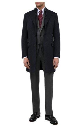 Мужской шерстяной костюм CORNELIANI темно-серого цвета, арт. 867268-0817072/92 Q1   Фото 1