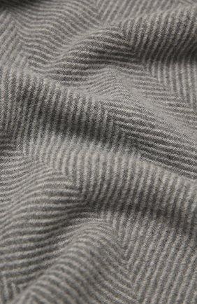 Мужской кашемировый шарф CORNELIANI серого цвета, арт. 86B396-0829006/00 | Фото 2