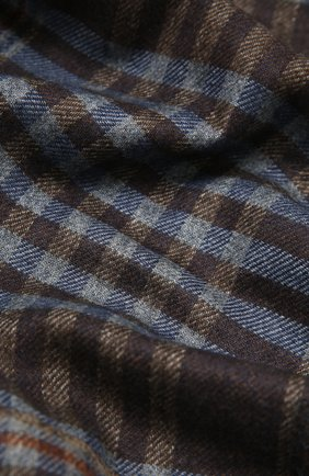 Мужской шарф из шелка и кашемира CORNELIANI голубого цвета, арт. 86B398-0829012/00 | Фото 2