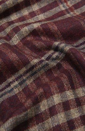 Мужской шарф из шелка и кашемира CORNELIANI бордового цвета, арт. 86B398-0829012/00 | Фото 2