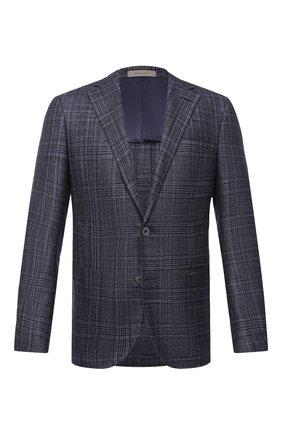 Мужской пиджак из шерсти и кашемира CORNELIANI синего цвета, арт. 86XY76-0816260/90   Фото 1