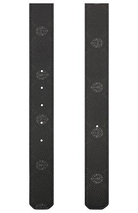 Мужской ремень BERLUTI черного цвета, арт. CS004-008 | Фото 2