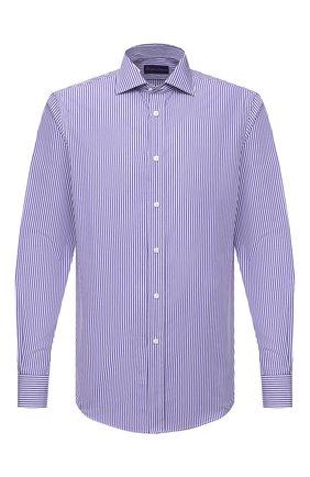 Мужская хлопковая рубашка RALPH LAUREN разноцветного цвета, арт. 790806127 | Фото 1
