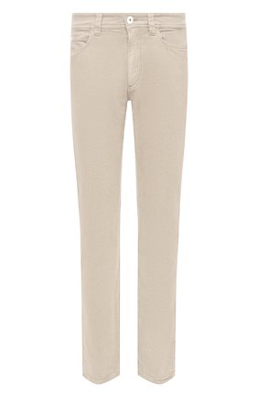 Мужские джинсы LORO PIANA светло-бежевого цвета, арт. FAG4511 | Фото 1