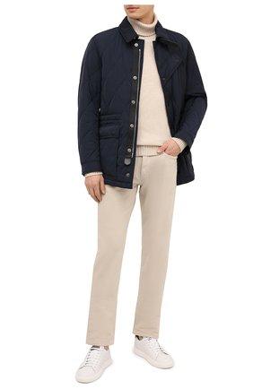 Мужские джинсы LORO PIANA светло-бежевого цвета, арт. FAG4511 | Фото 2