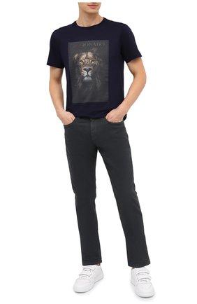 Мужские джинсы LORO PIANA серого цвета, арт. FAG4511 | Фото 2