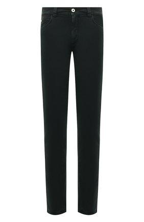Мужские джинсы LORO PIANA темно-синего цвета, арт. FAG4511 | Фото 1