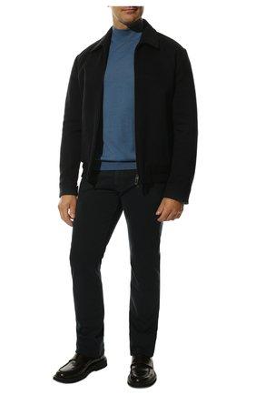 Мужские джинсы LORO PIANA темно-синего цвета, арт. FAG4511 | Фото 2