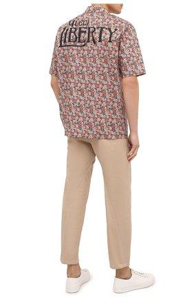 Мужская хлопковая рубашка liberty GUCCI разноцветного цвета, арт. 636407/ZAFKZ | Фото 2