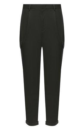Мужской хлопковые брюки-карго Z ZEGNA хаки цвета, арт. VV136/ZZ363 | Фото 1