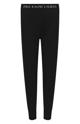 Мужские домашние джоггеры POLO RALPH LAUREN черного цвета, арт. 714804801 | Фото 1