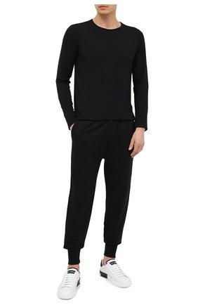 Мужские домашние джоггеры POLO RALPH LAUREN черного цвета, арт. 714804801 | Фото 2