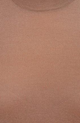 Женский кашемировый топ DOLCE & GABBANA бежевого цвета, арт. FX826T/JAW3F | Фото 5