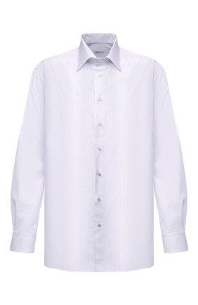 Мужская хлопковая сорочка ZILLI белого цвета, арт. MFU-1803-1118/0002/45-49   Фото 1