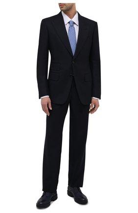 Мужская хлопковая сорочка ZILLI белого цвета, арт. MFU-1803-1118/0002/45-49   Фото 2