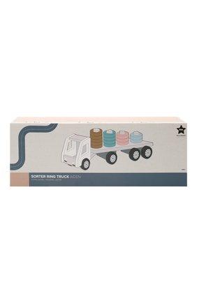 Детского игрушка-сортер с кольцами грузовик KID`S CONCEPT разноцветного цвета, арт. 1000427 | Фото 1