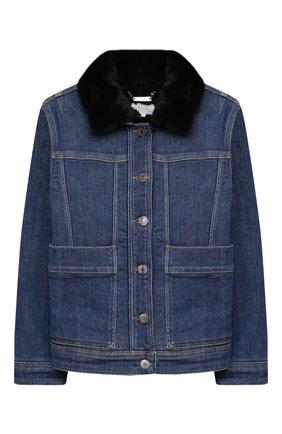 Детская куртка GIVENCHY синего цвета, арт. H16063 | Фото 1