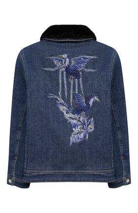 Детская куртка GIVENCHY синего цвета, арт. H16063 | Фото 2