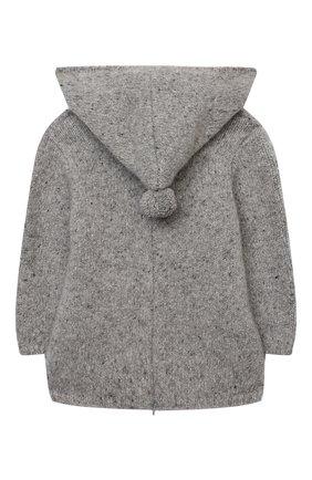 Детского кашемировый пуловер LES LUTINS PARIS серого цвета, арт. 20H085/BURN0U | Фото 2