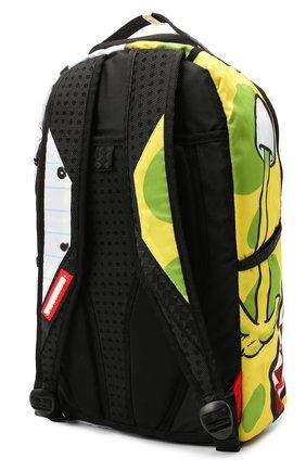 Детская рюкзак SPRAYGROUND желтого цвета, арт. 910B3098NSZ | Фото 2