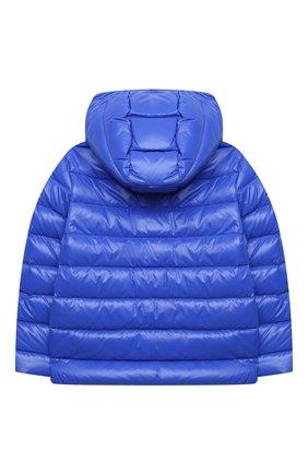 Детского пуховая куртка POLO RALPH LAUREN синего цвета, арт. 313795697 | Фото 2