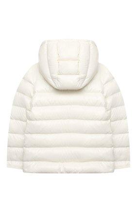 Детского пуховая куртка POLO RALPH LAUREN белого цвета, арт. 313795697 | Фото 2