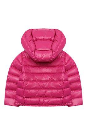 Детского пуховая куртка POLO RALPH LAUREN фуксия цвета, арт. 312795695 | Фото 2