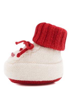 Детские шерстяные носки BABY T красного цвета, арт. 20AI073SA   Фото 2
