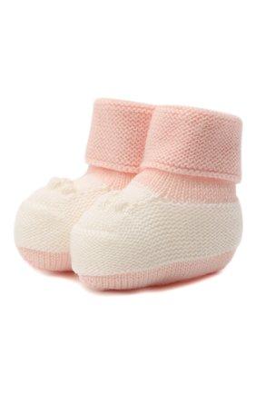 Детские шерстяные носки BABY T розового цвета, арт. 20AI113SA | Фото 1