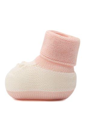 Детские шерстяные носки BABY T розового цвета, арт. 20AI113SA | Фото 2