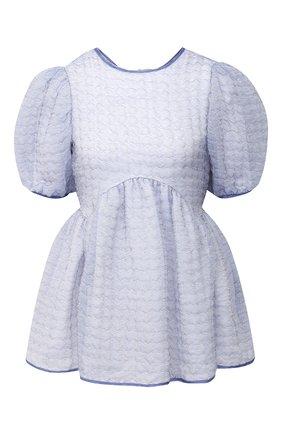Женская блузка CECILIE BAHNSEN голубого цвета, арт. PF20-0054 | Фото 1