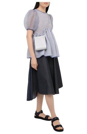 Женская блузка CECILIE BAHNSEN голубого цвета, арт. PF20-0054 | Фото 2