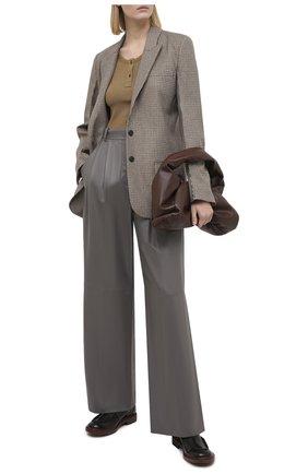 Женские кожаные ботинки TOD'S черного цвета, арт. XXW93C0DV00ESH | Фото 2